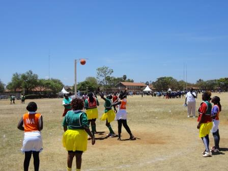 Netball Women in action